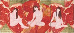 日本画 安達まどか(2010年度卒業生)「女」