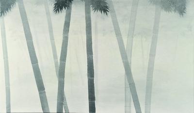 日本画 池田千春(2010年度卒業生)「awai」