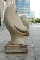 横浜トリエンナーレで冨井先生の作品を鑑賞