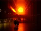 人工の太陽 LONDON TATE Museum オラファー・エリアソンのインスタレーション