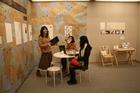 卒業プロジェクト展、展示風景